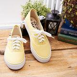 中國強 MIT 百搭潮流功夫鞋H595(黃色)女鞋