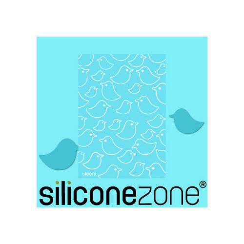 【Siliconezone】施理康Siconi環保矽膠任意桌貼布-藍鳥