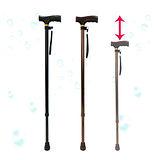 【舞動創意】仲群維醫療用手杖(未滅菌)-鋁合金十段調整手杖-GT20052