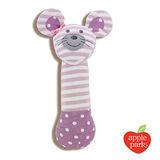 【美國 Apple Park - 農場好朋友系列】有機棉安撫啾啾棒- 芭蕾鼠娘