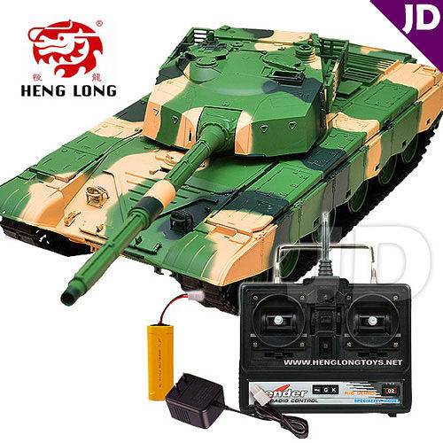 【Heng Long 恆龍】1:16 中國99式主戰坦克 (#3899-1)