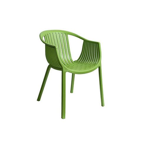 【空間生活】海絲特休閒椅(綠)-兩入