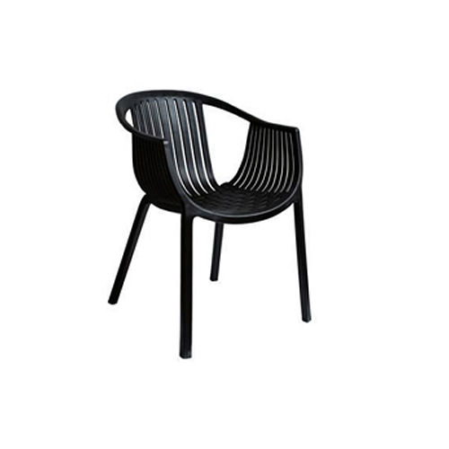 【空間生活】海絲特休閒椅(黑)-兩入
