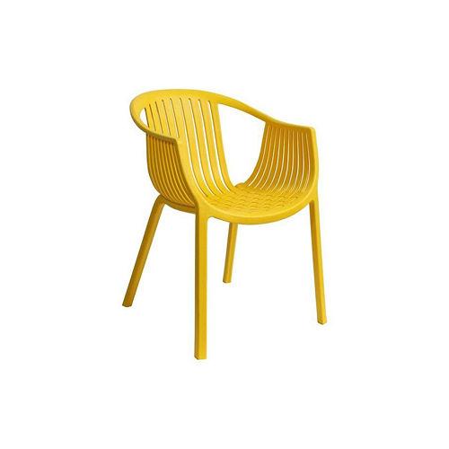 【空間生活】海絲特休閒椅(黃)-兩入