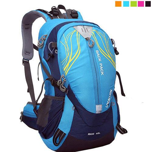 PUSH! 戶外休閒登山用品 40L 登山包 背包 騎行包 可放安全帽