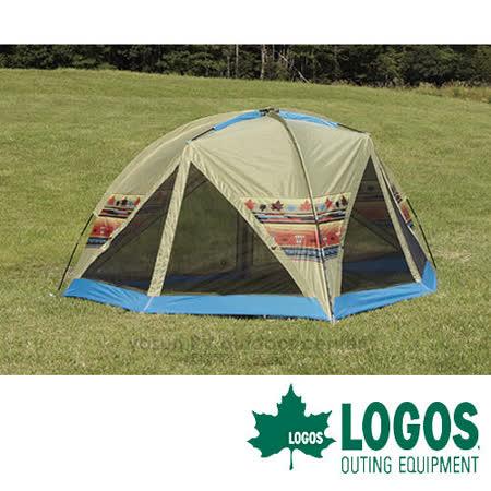 LOGOS 印地安家庭網屋帳篷