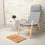 【日安家居】Remi蕾米休閒高背單人扶手椅