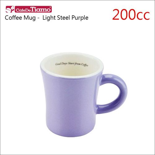 Tiamo 日本製夏日馬卡龍陶瓷馬克杯-200cc-淡紫色 (HG0724LSP)