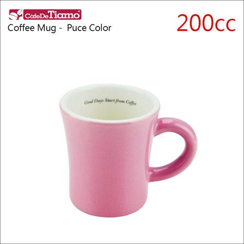 Tiamo 日本製夏日馬卡龍陶瓷馬克杯-200cc-粉紅色 (HG0724P)