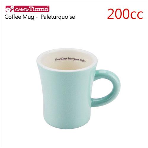 Tiamo 日本製夏日馬卡龍陶瓷馬克杯-200cc-淡粉藍色 (HG0724PT)