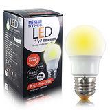 新格牌 全周光LED省電燈泡-黃光(5W)