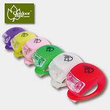 【Outdoorbase】青蛙LED燈x3組 高抗水(同色2入/共6個)、防雨淋、穩固、耐用、延展張力強、矽膠耐寒又耐熱。可當手電筒 21782