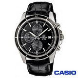 CASIO EDIFICE系列商務休閒皮帶腕錶 EFR-526L-1A