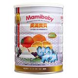 【佑爾康奶粉】【MamiBaby美滿寶貝】CBP黑棗水果米精450g(4罐/組)