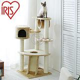 日本 IRIS《溜滑梯腳印貓座》QQ大貓台【IR-QQ80083】送貓草粉