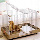 【IRIS】室內外兩用貓狗籠RKG-900 (簡單實用寵物籠)