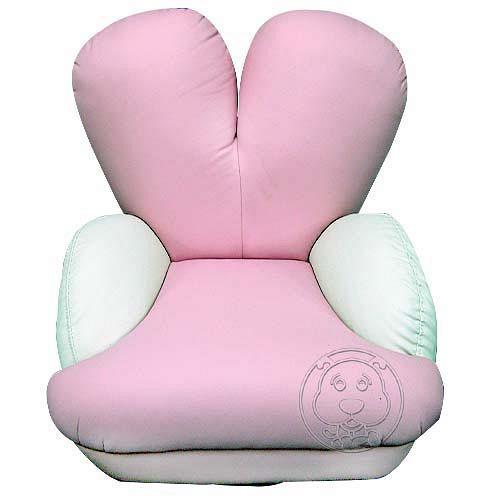 《愛心椅背造型》真皮寵物沙發