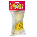 《沛貝兒CHEWUES》5.5吋牛奶打結骨*2包CA-03
