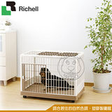 日本Richell《塑膠製圍籠 PK-830》中小型犬用 82.5×55×62.5cm