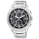 【CITIZEN】傳奇武士三眼計時腕錶 CA0370-54E