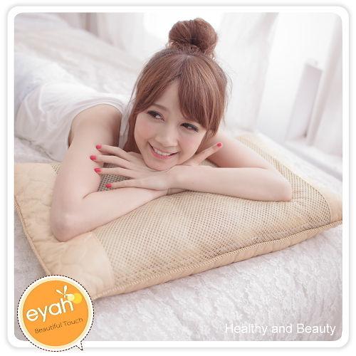 【eyah】新型米苔目45顆獨立筒乳膠枕2入
