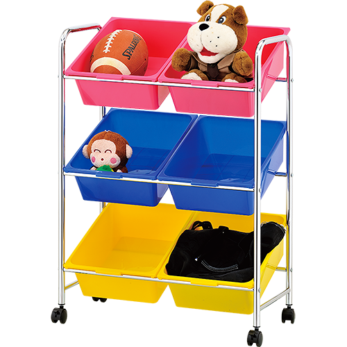ikloo 6格玩具收納櫃
