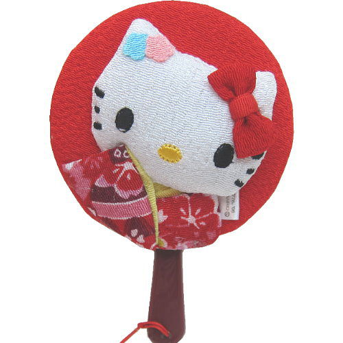 Hello kitty 凱蒂貓◇造型隨身鏡◇《紅色》