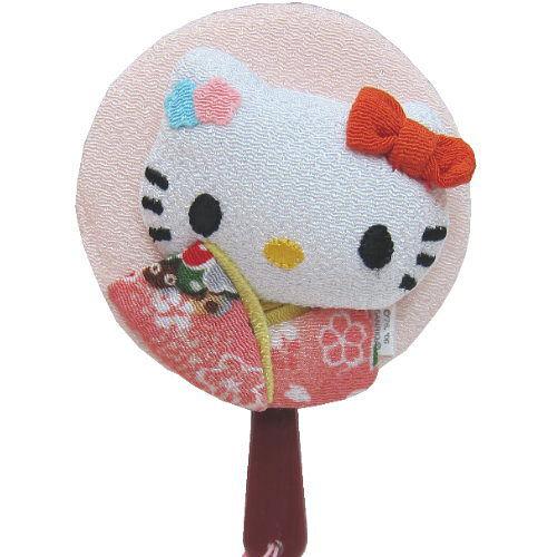 Hello kitty 凱蒂貓◇造型隨身鏡◇《淺粉色》