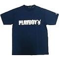 PLAYBOY春夏短袖T恤◆ Play Boy◆《T恤+褲子》藍色