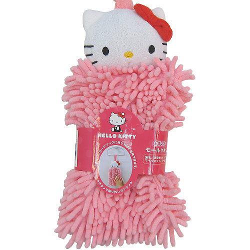 【波克貓哈日網】Hello kitty 凱蒂貓◇超強吸水纖維◇《粉紅色擦手巾》