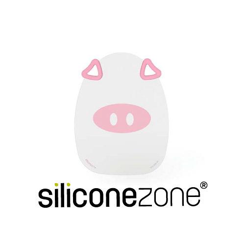 【Siliconezone】施理康耐熱粉紅小豬造型矽膠砧板