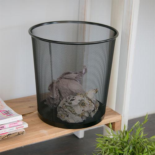 ~ikloo~寬口密網垃圾桶 紙簍桶 收納桶 傘桶