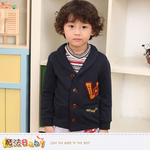 魔法Baby~男童外套 專櫃品牌流行童裝 秋冬外套~k36930