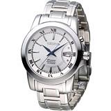 SEIKO Premier 精工 沉穩商務萬年曆腕錶 6A32-00X0S SNQ139J1