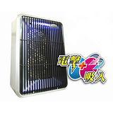 【KINYO】吸入式+電網 二合一強效捕蚊燈(KL-122)