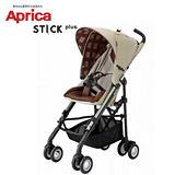 愛普力卡 Aprica Stick Plus 挑高型手推車 - 格子米
