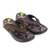 【Pretty】若梵妮 德國PU環保素材夾腳健走鞋-粉紅色、金色