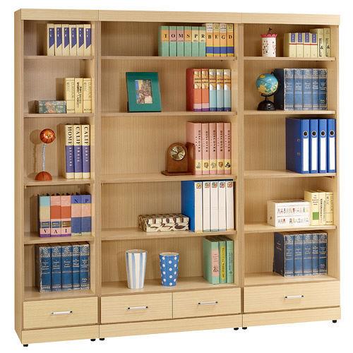 HAPPYHOME 白橡6尺開放書櫃167-263+264+265