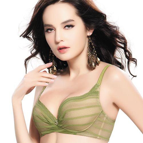 【思薇爾】愛現GIRL系列B-E罩內衣(時尚綠)