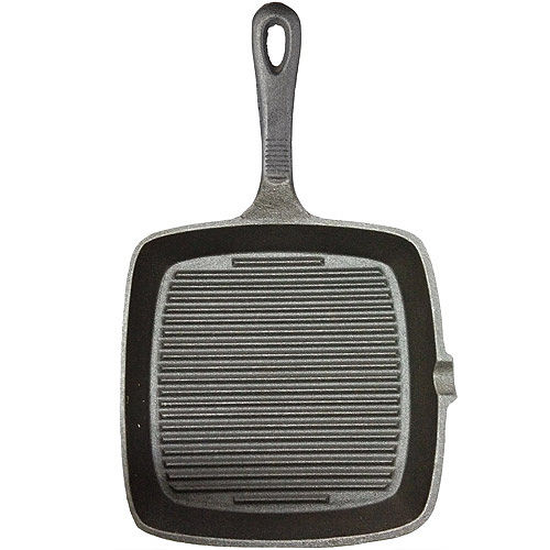 ~KitchenCraft~鑄鐵煎烤盤 方凸紋
