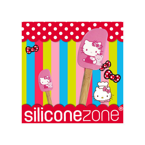 【Siliconezone】施理康Hello Kitty奶油刮刀-粉