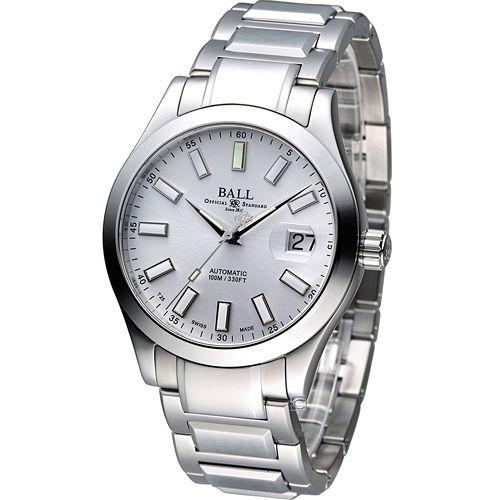 BALL Watch 工程師 Marvelight 大三針自動機械腕錶 NM2026C-S6J-SL
