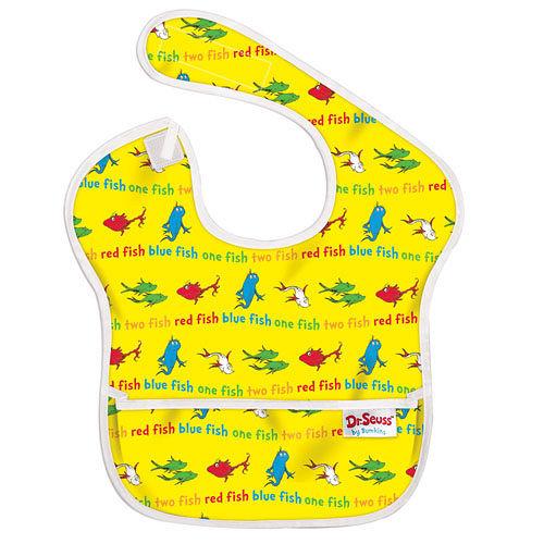 美國Bumkins防水兒童圍兜-小魚 BKS-F01