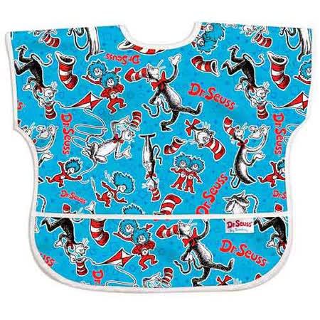 美國Bumkins防水兒童圍兜(短袖)- 帽子貓 BKU-C01 -friDay購物
