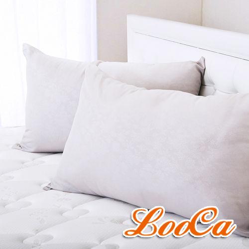 LooCa美國Microban抗菌竹炭枕(2入)