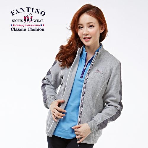 【FANTINO】法式立領休閒外套(灰)285103