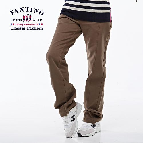 【FANTINO】法式休閒長褲(咖啡)383101