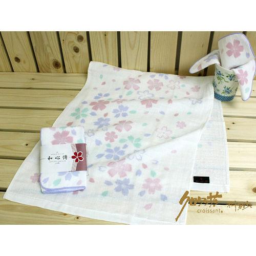 【クロワッサン科羅沙】日本毛巾~和心傳 櫻花毛巾31*81cm