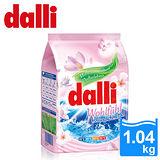 【德國達麗Dalli】好感覺全效濃縮洗衣粉1.04kg-花香(4入/箱)