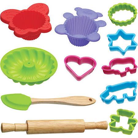 KitchenCraft 兒童烘焙模具12件組